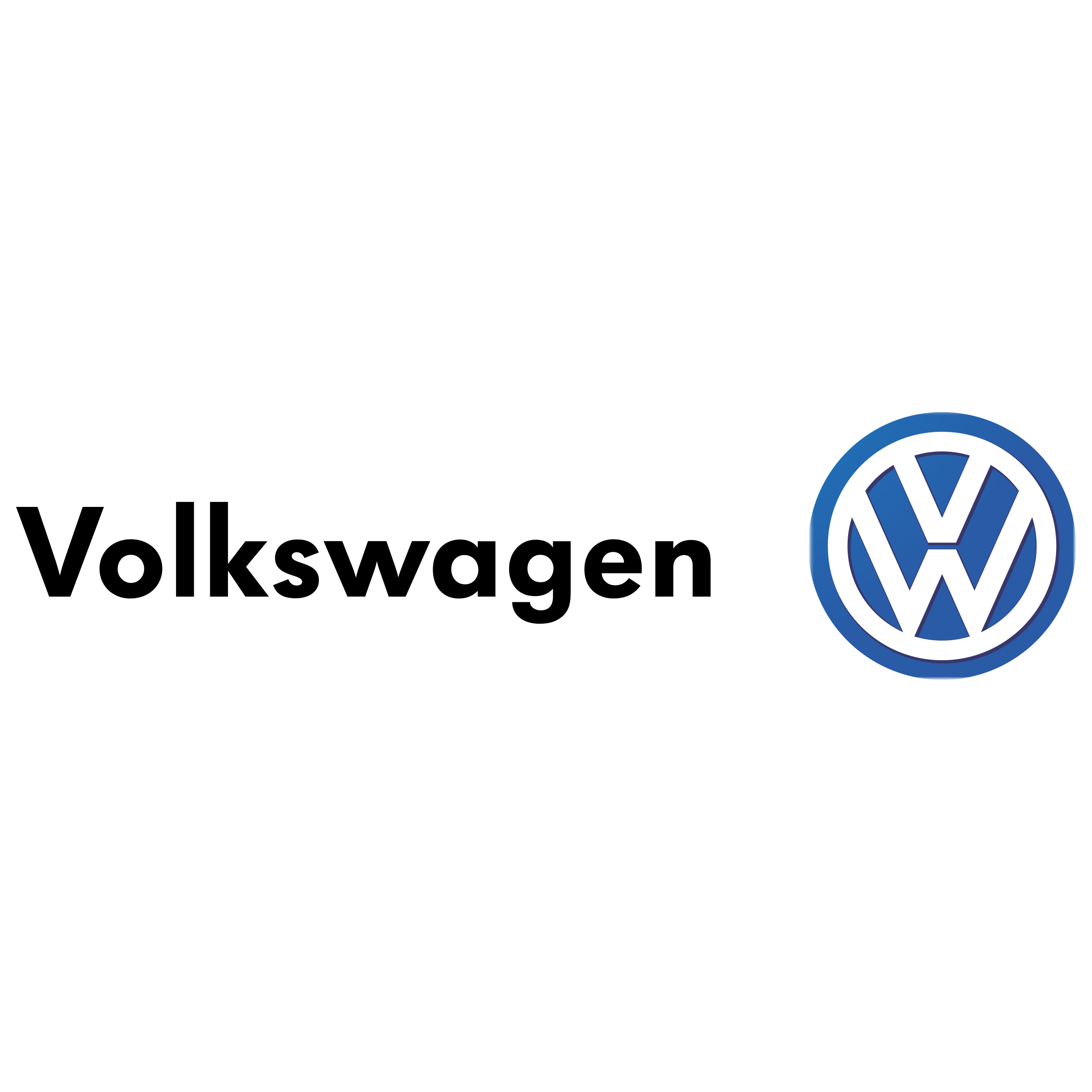 Volkswagen Logo PNG Transparent & SVG Vector.