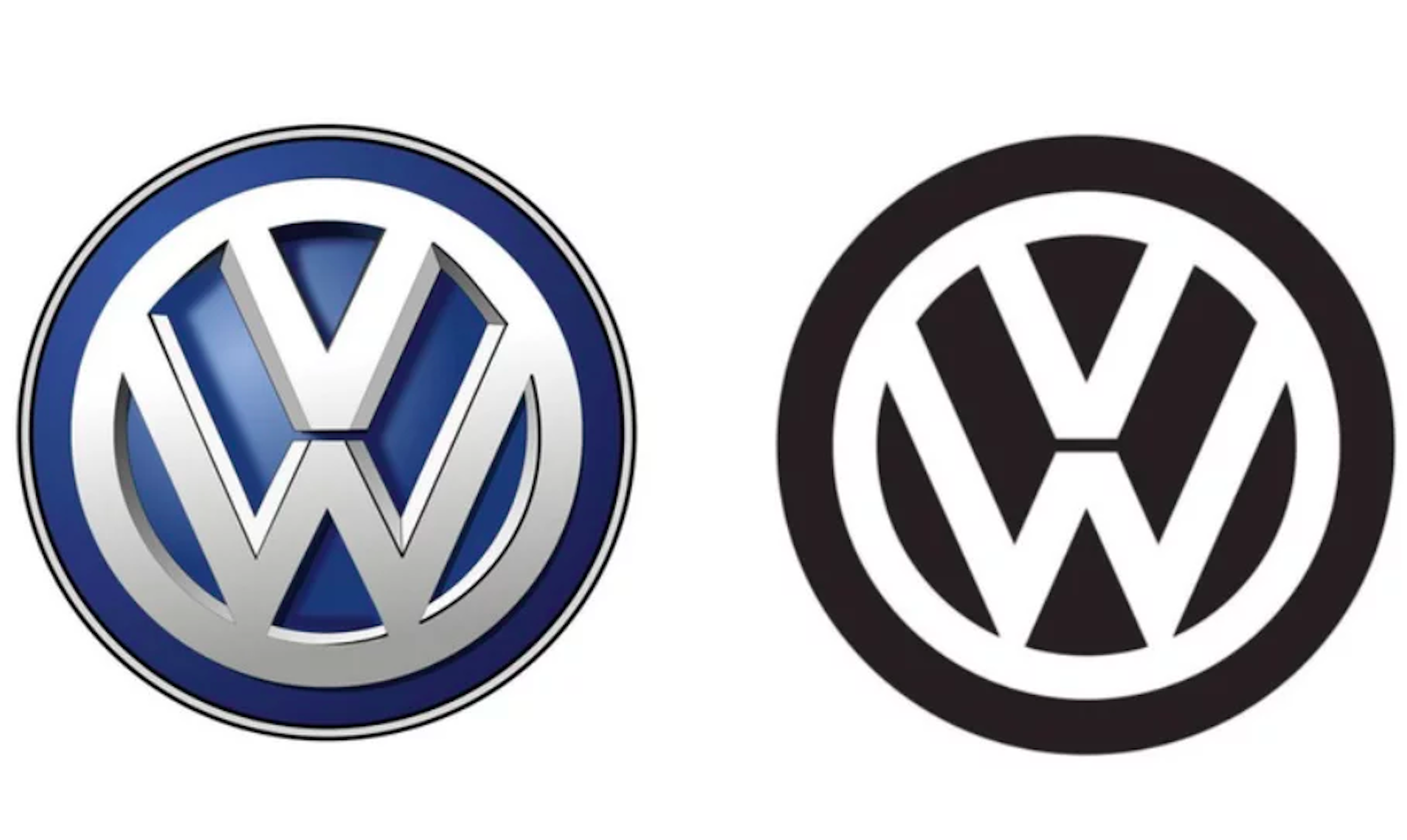 VW is changing its logo for the first time since 2000, but it's not.
