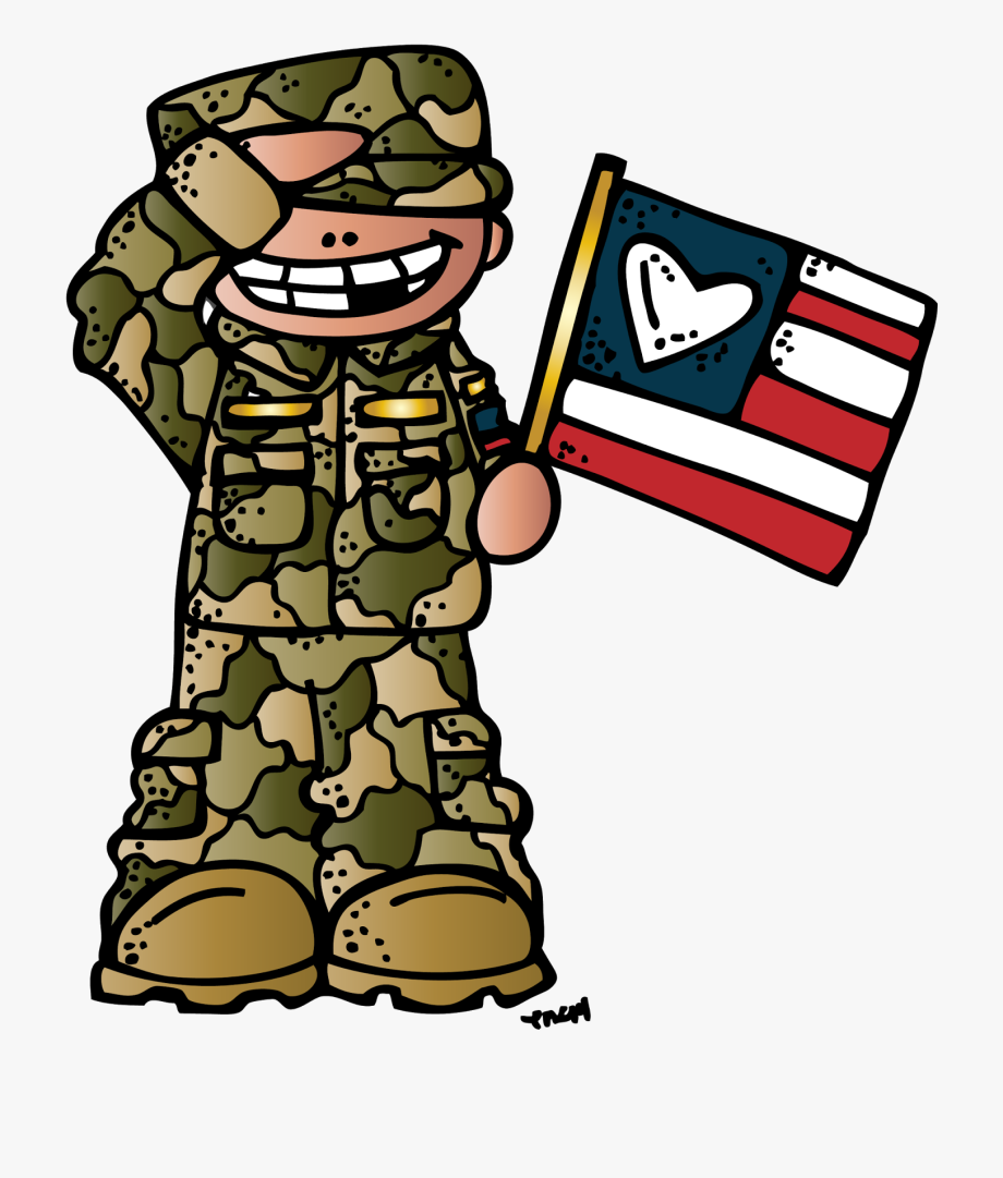 Melonheadz Veterans Day Clipart , Transparent Cartoon, Free.