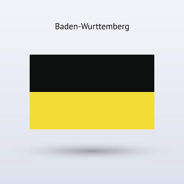 Clip Art Of Baden Wurttemberg Flag Clip Art, Vector Images.