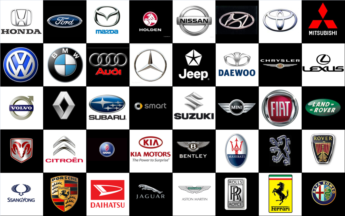 Car logos and their hidden meanings.