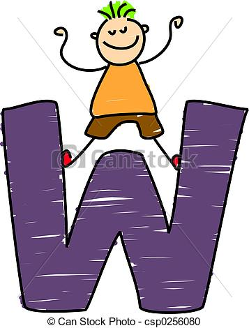 Letter w Clip Art and Stock Illustrations. 14,266 Letter w EPS.