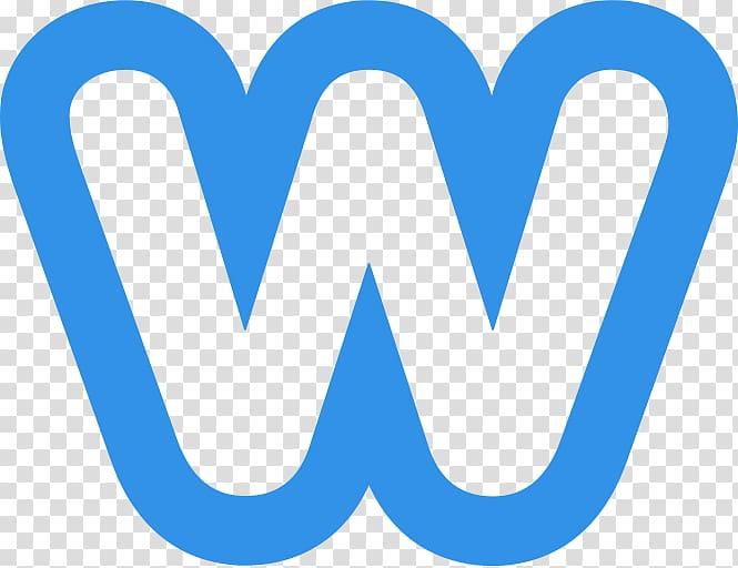 Blue W letter, Weebly Logo transparent background PNG.