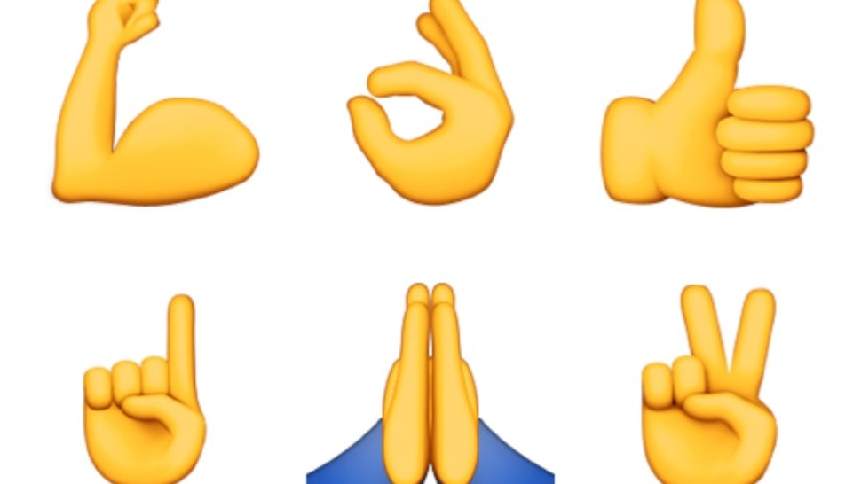 What Do All The Hand Emojis Mean? Or, How To Know When To.