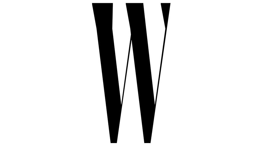 W Magazine Vector Logo.