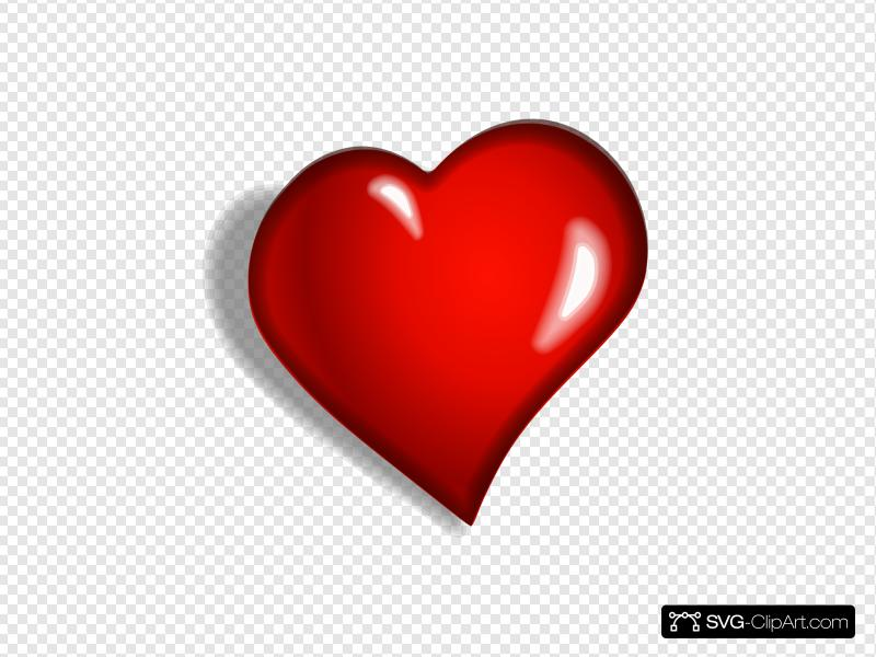 Heart 1 Clip art, Icon and SVG.