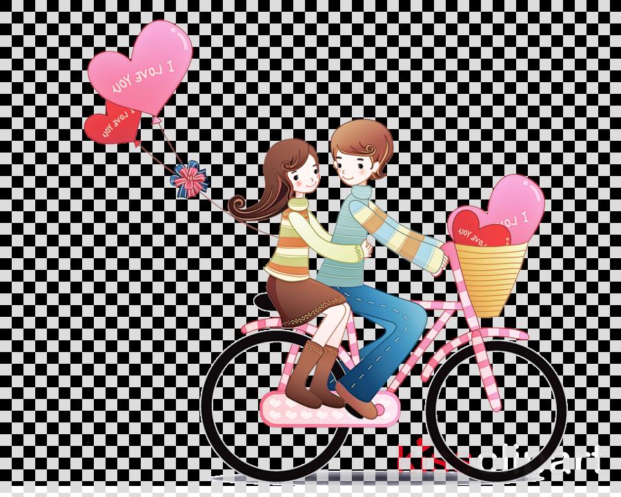 cartoon vehicle bicycle clip art heart clipart.