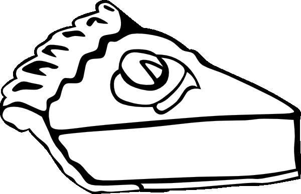 Pie Outline Clipart.