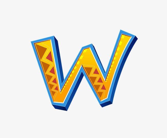 The Letter W Png & Free The Letter W.png Transparent Images #22495.