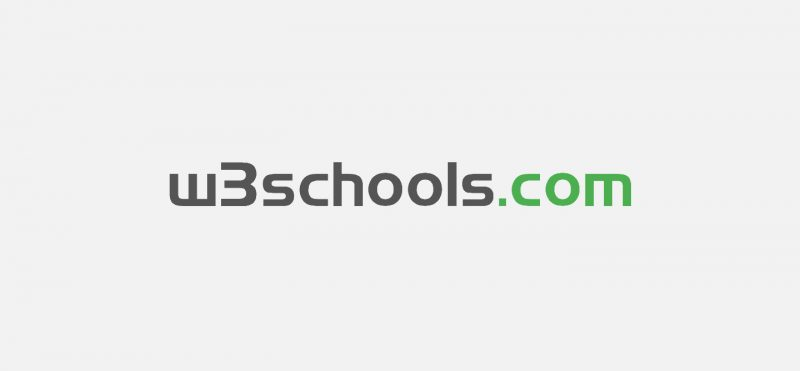 W3Schools Online Web Tutorials.