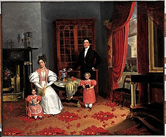 The Family of John Q. Aymar Attributed to George W. Twibill Jr.