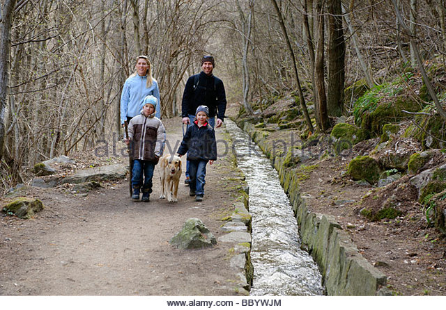 Italian Family With Dog Stock Photos & Italian Family With Dog.