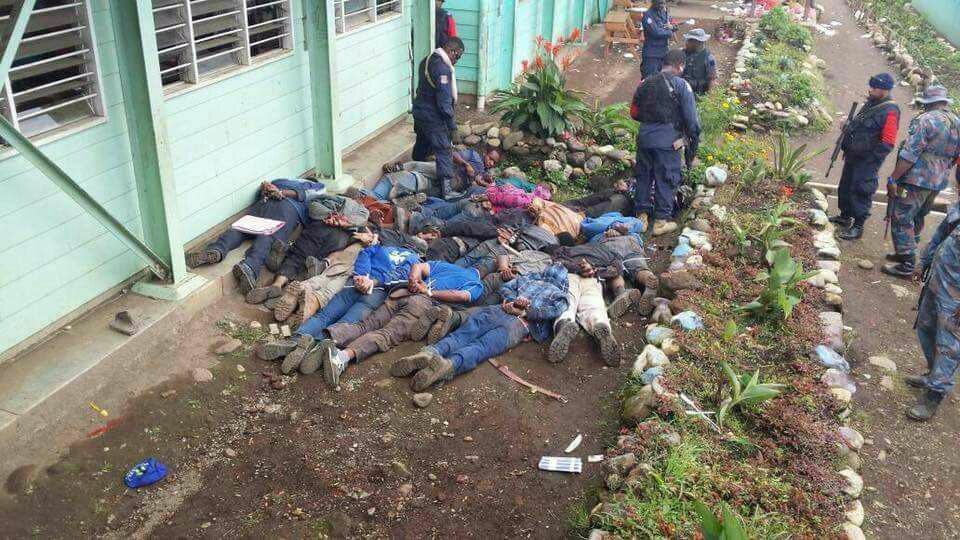 Three Police officers injured as supporters of candidates clash in.