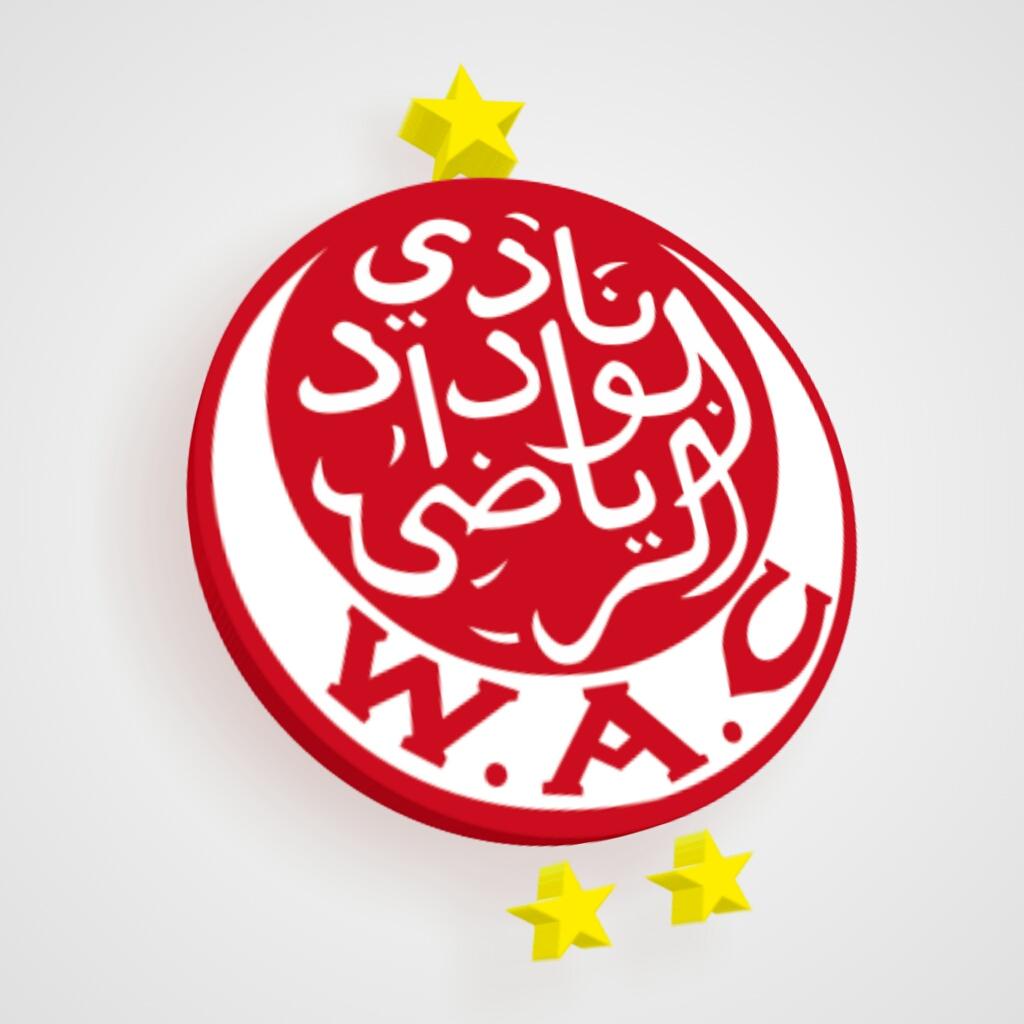 Logo Wydad AC 2018 ..WAC.
