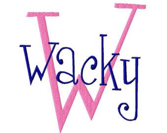 Wacky clipart.