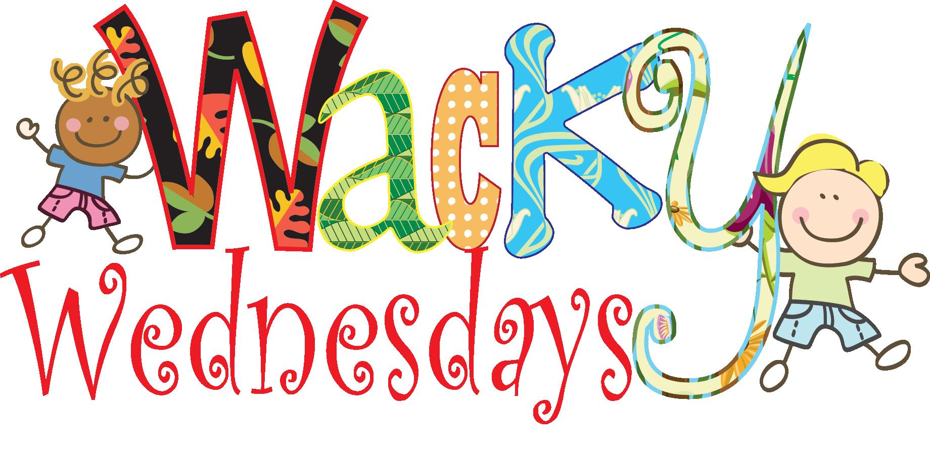 Wacky Wednesday Clip Art N2 free image.