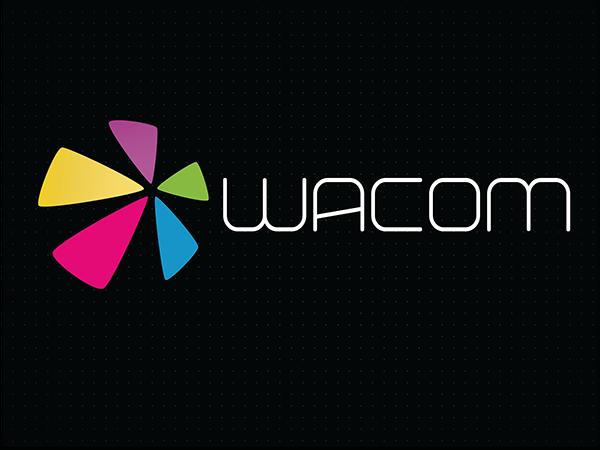 Wacom Logo Redesign on Student Show.