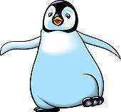 Clipart of penguins k12693012.