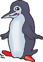 Free Vector Penguin Waddling.