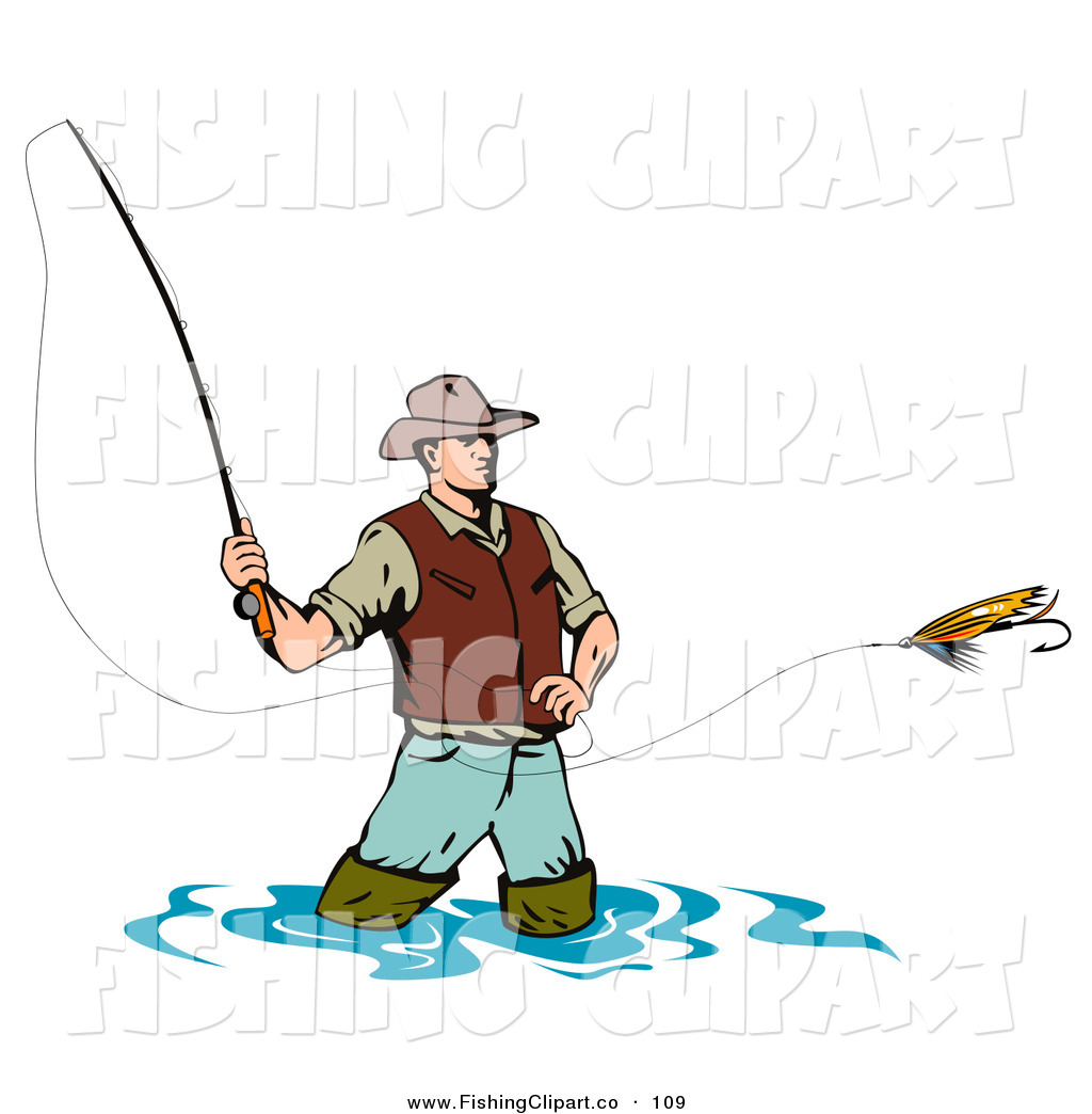 Fishing Clipart.