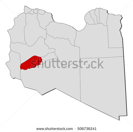 Libya Outline Map Stock Photos, Royalty.