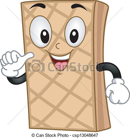 Wafer Clipart.