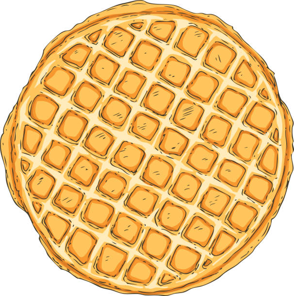 Best Waffle Illustrations, Royalty.
