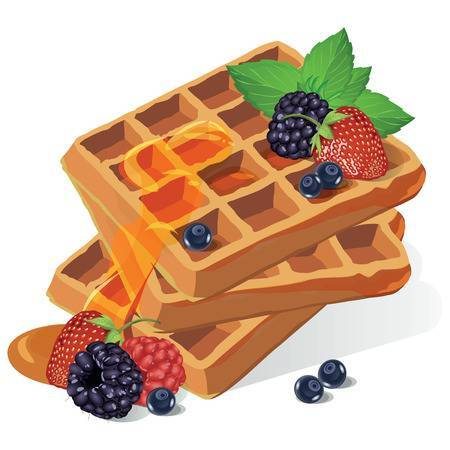 Waffle clipart free 6 » Clipart Portal.