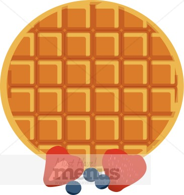 Waffle pictures clip art.