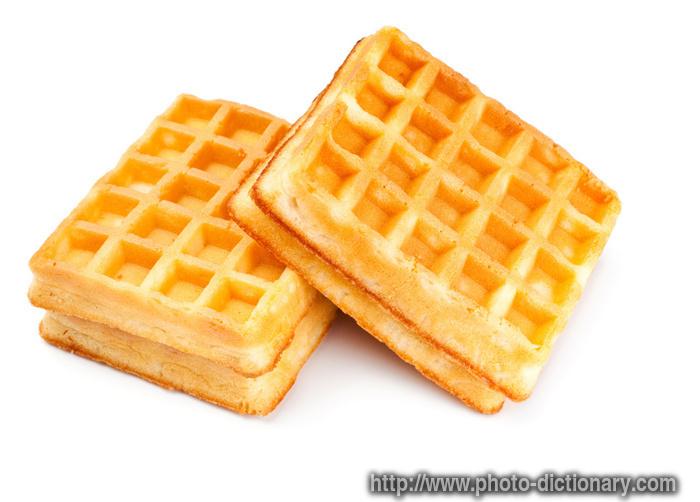 Waffle breakfast clipart.
