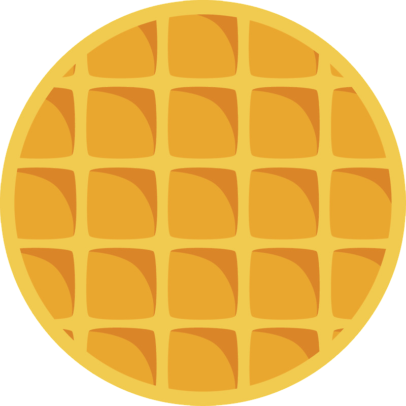 Waffle Clipart, Transparent Waffle PNG Images.