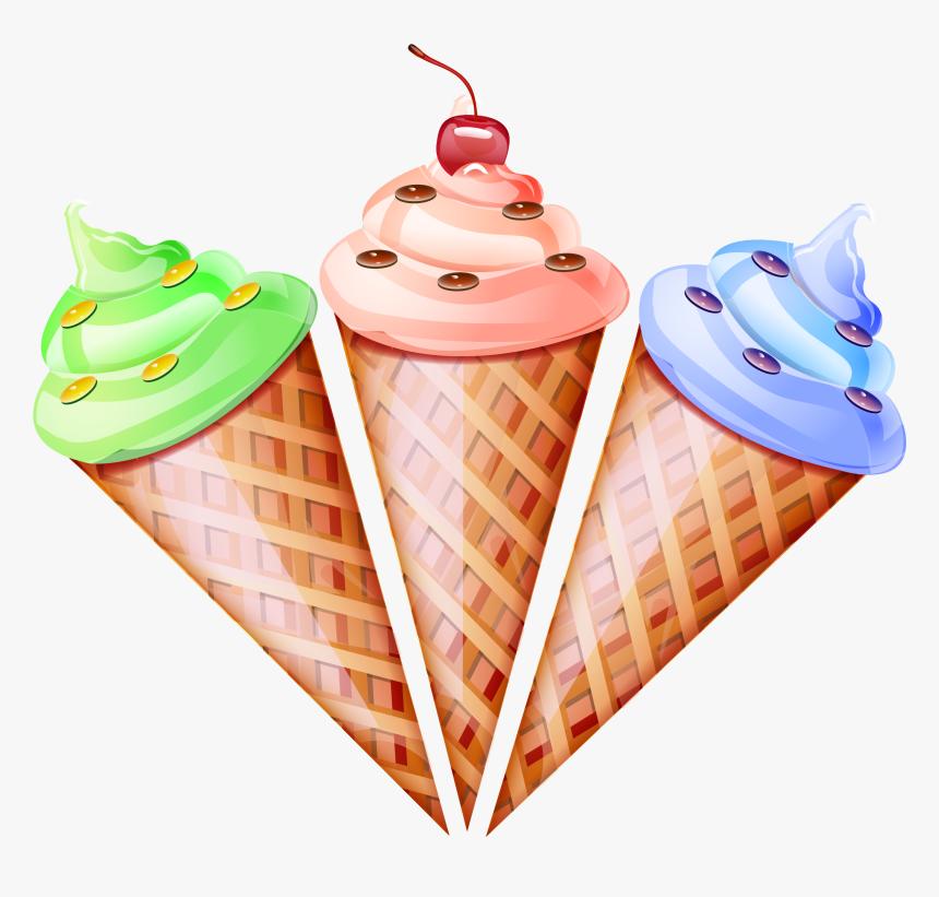 Ice Cream Cone Waffle Snow Cone.