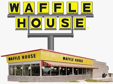 Waffle house clipart.