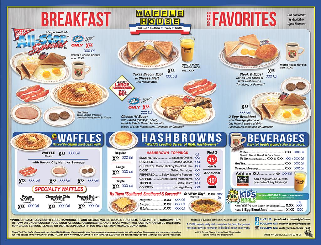 17 Best ideas about Waffle House Menu on Pinterest.