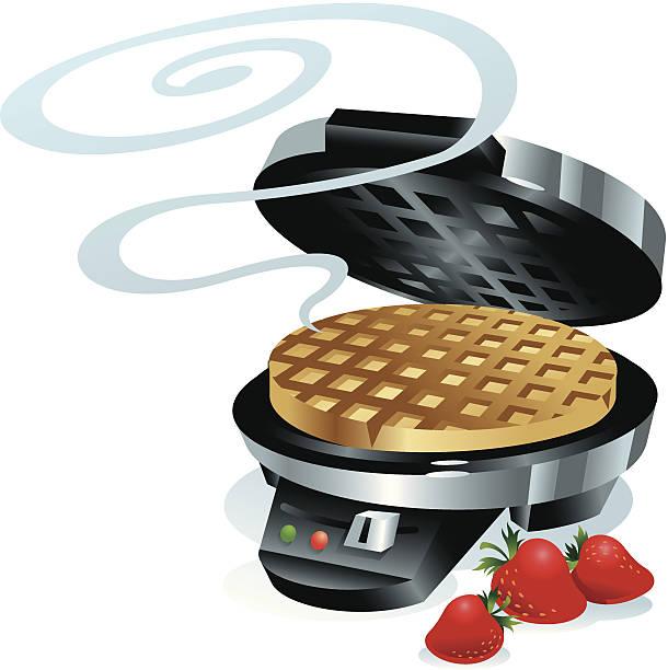 Best Waffle Iron Illustrations, Royalty.