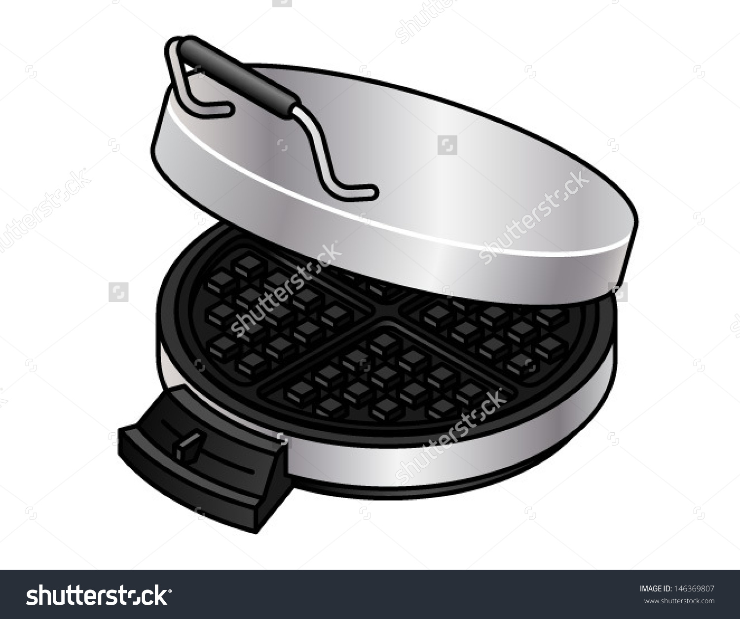 Showing post & media for Cartoon waffle iron.