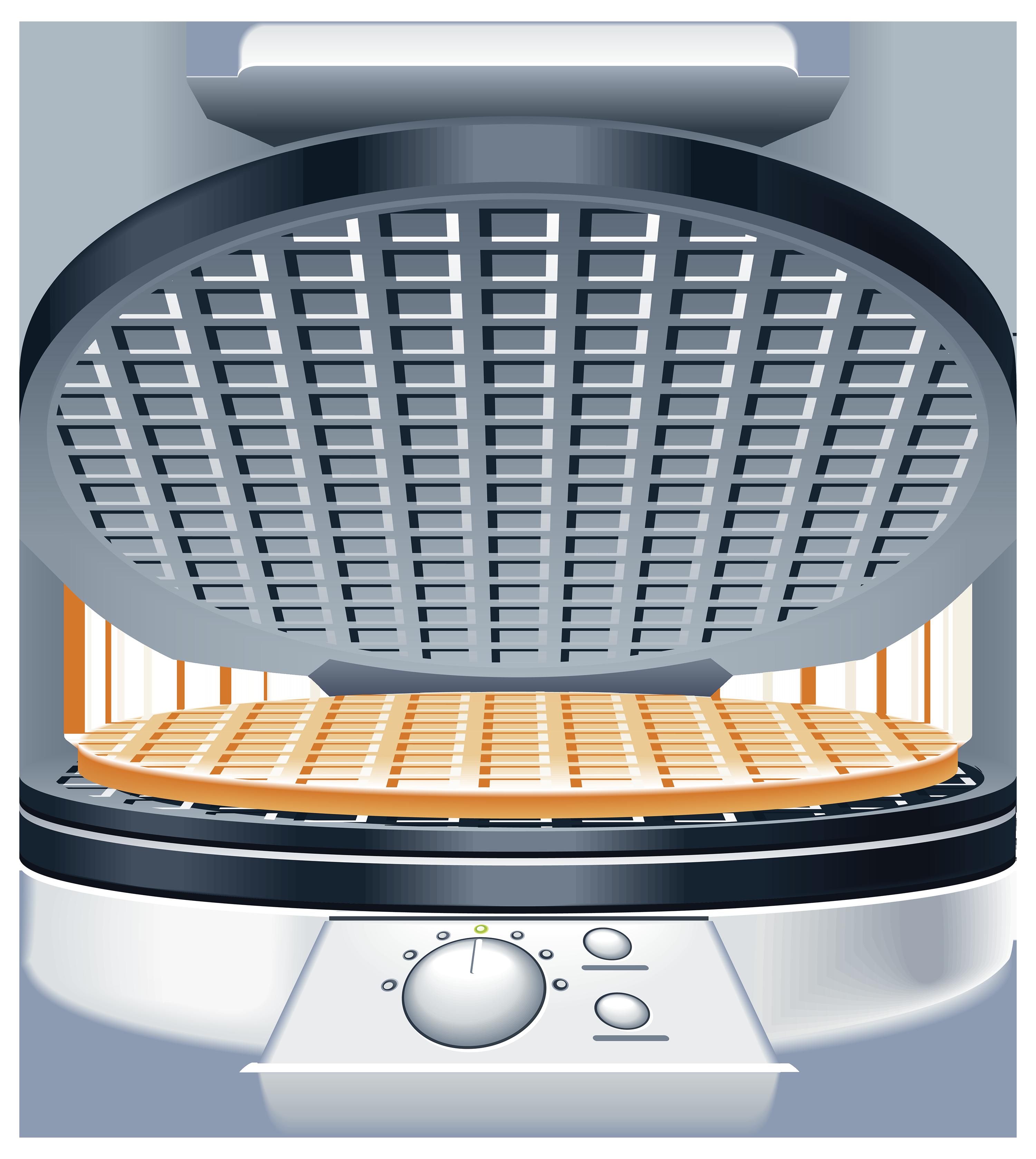 Waffle iron clipart.