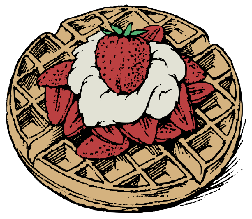 Belgian waffle clipart » Clipart Portal.