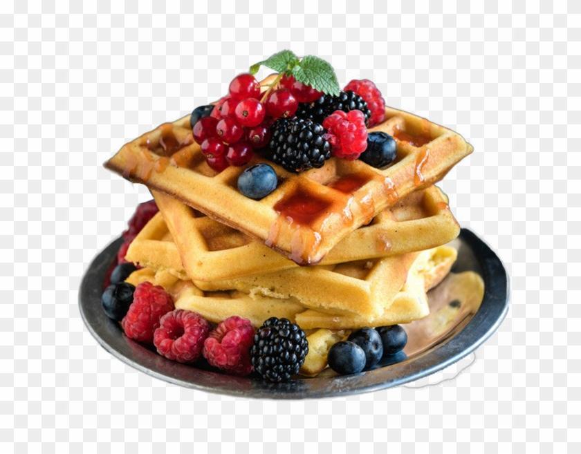Belgian Waffle Free Png Image.