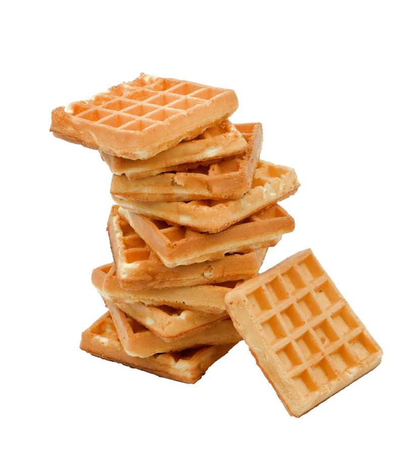 Stack Of Waffles transparent PNG.