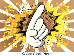 Wagging finger Vector Clip Art Royalty Free. 58 Wagging.