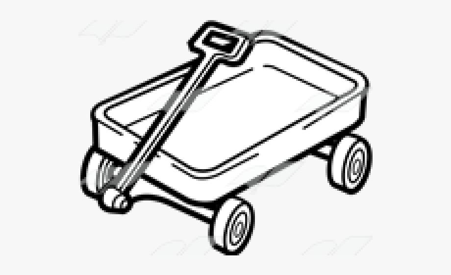 Wagon Clipart Drawing.