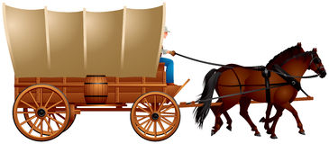Clipart Covered Wagon.
