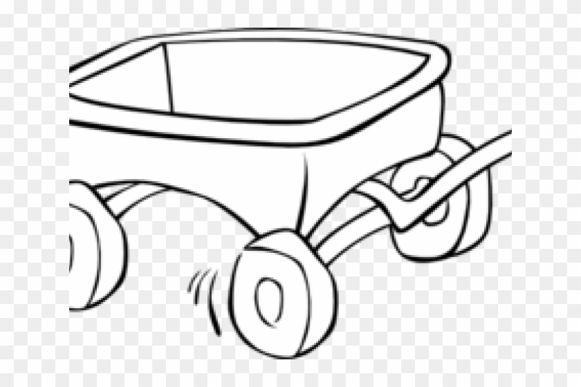 Pioneer Clipart Red Wagon.