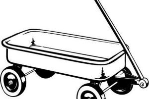 Wagon clipart black and white 2 » Clipart Portal.