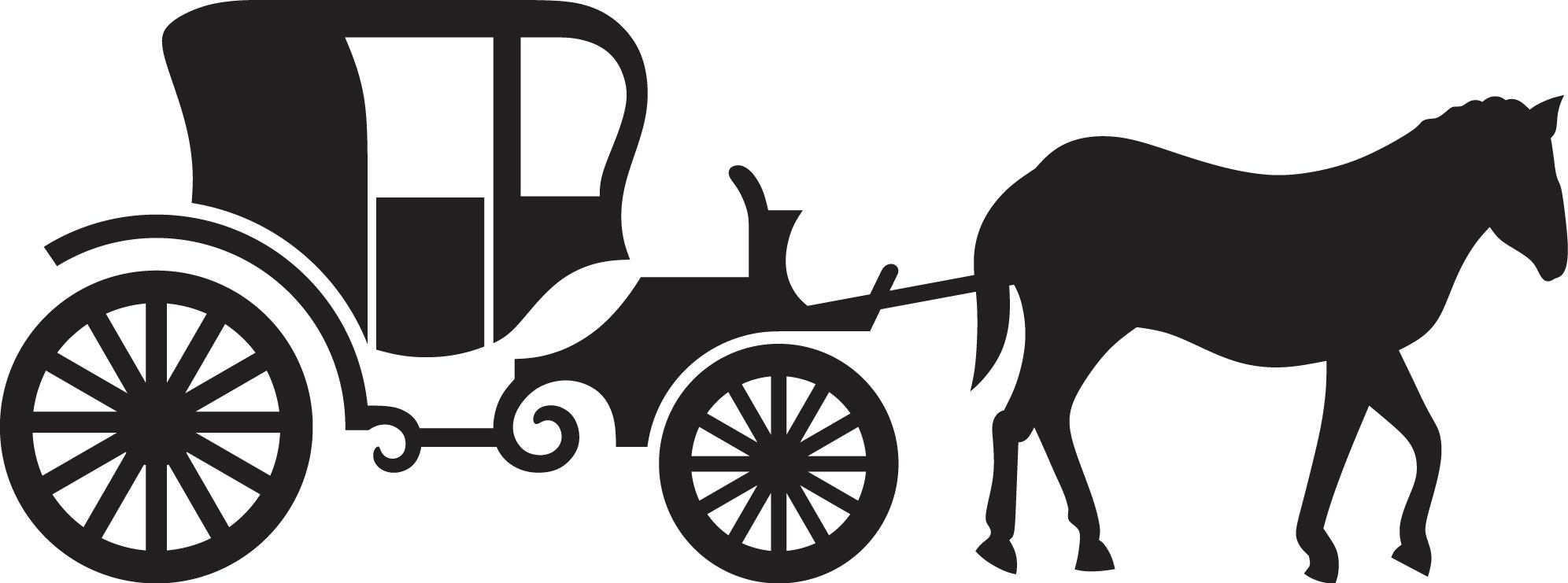 wagon ride clipart #8