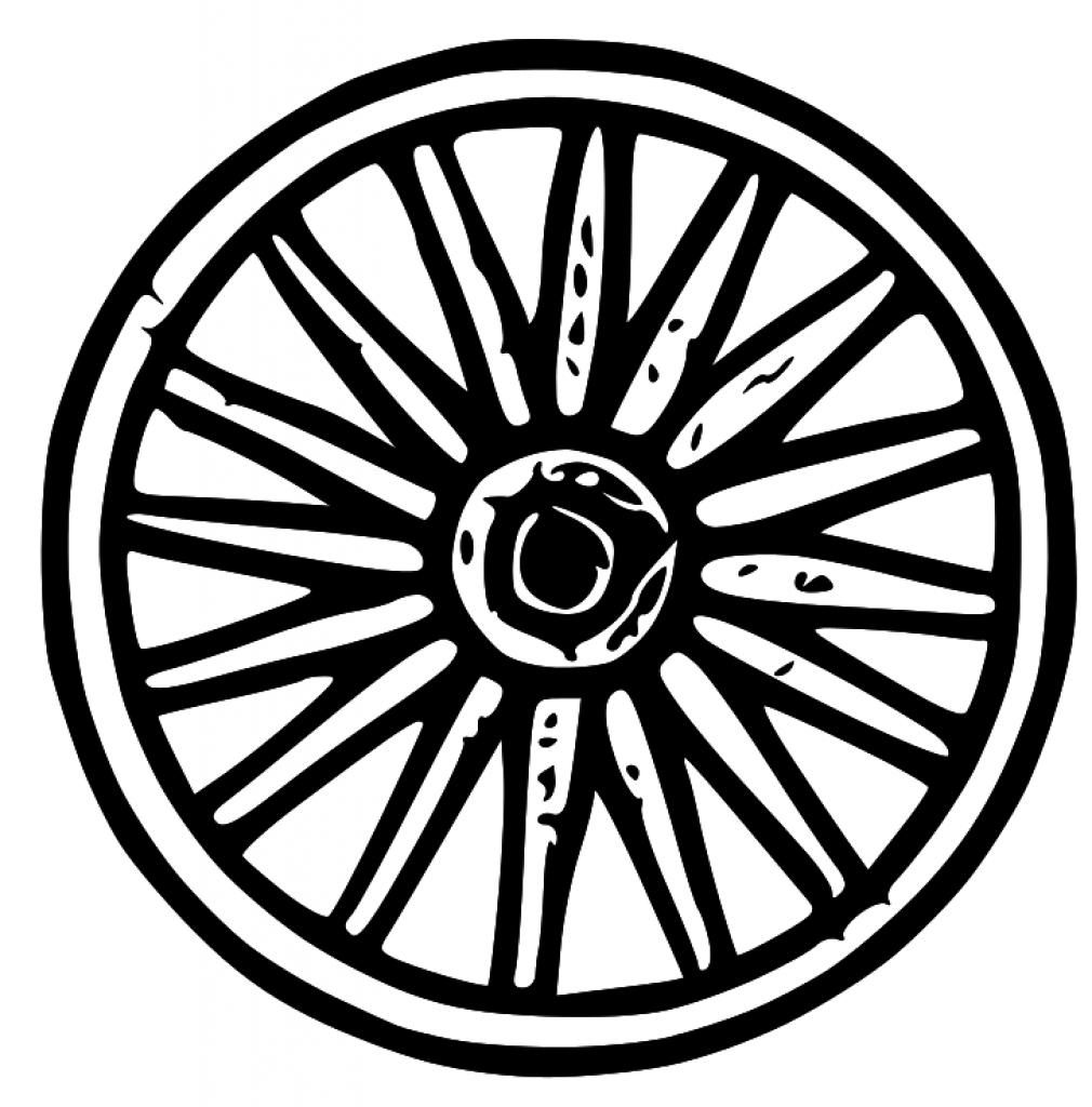 wagon tire clipart clipground Western Clip Art Coyote Clip Art