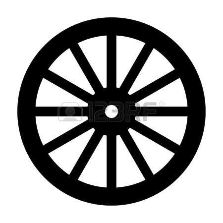 wagon tire clipart clipground wagon wheel clip art for gypsy Western Clip Art