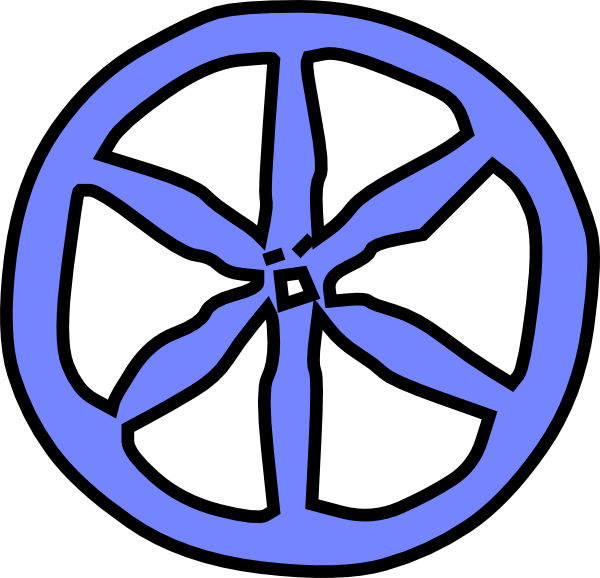 Transportions Wagon Wheel Clipart.