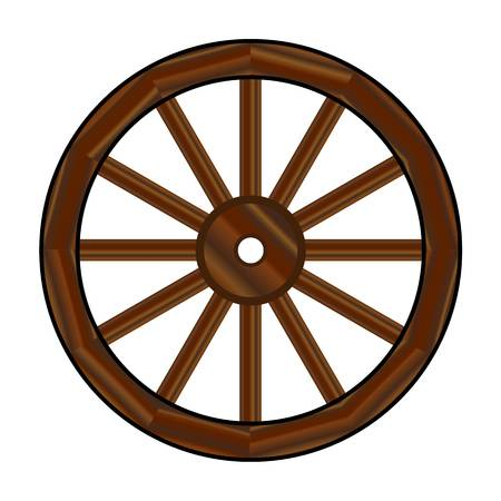 Clipart Wagon Wheel & Free Clip Art Images #19330.